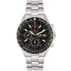 Comprare Orologio Seiko Uomo Flightmaster Pilot Chronograph Quartz SND253P1