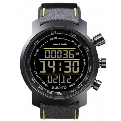 Comprare Orologio Uomo Suunto Elementum Terra Black/Yellow Leather SS019997000