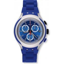 Orologio Swatch Uomo Irony Xlite Blue Attack YYS4017AG Cronografo