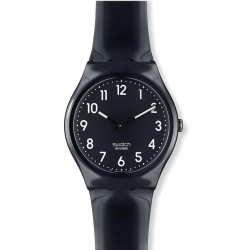 Orologio Swatch Unisex Gent Black Suit GB247