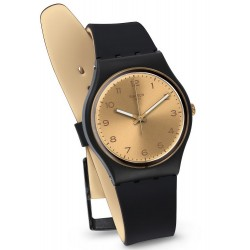 Orologio Swatch Unisex Gent Golden Friend Too GB288
