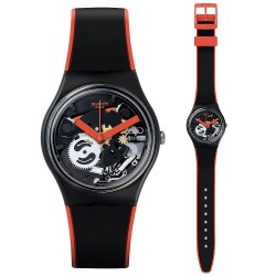 Orologio Swatch Unisex Gent Red Frame GB290