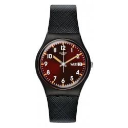 Orologio Swatch Unisex Gent Sir Red GB753