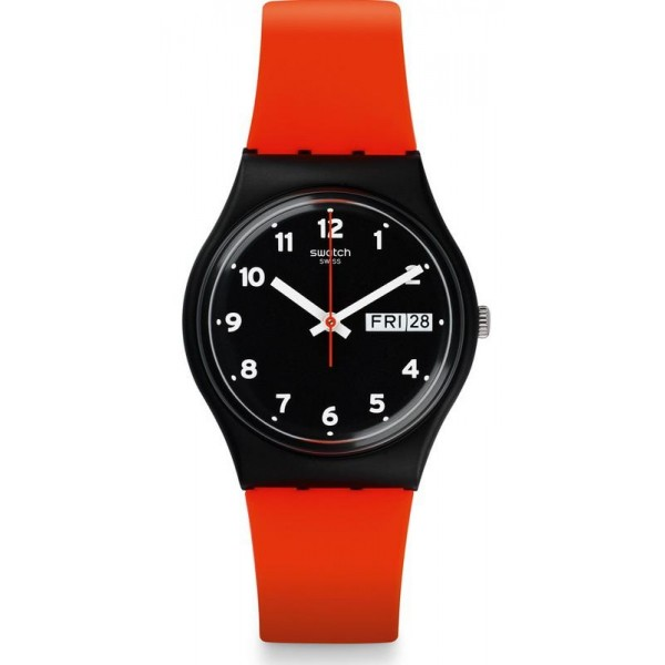 Comprare Orologio Swatch Unisex Gent Red Grin GB754