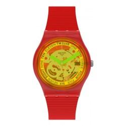 Orologio Swatch Unisex Gent Retro-Rosso GR185
