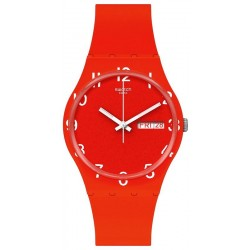 Orologio Swatch Unisex Gent Over Red GR713