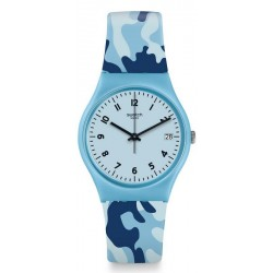 Orologio Swatch Donna Gent Camoublue GS402