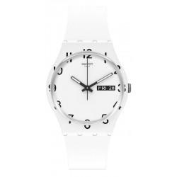 Orologio Swatch Unisex Gent Over White GW716