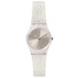 Orologio Swatch Donna Lady Silver Glistar Too LK343E