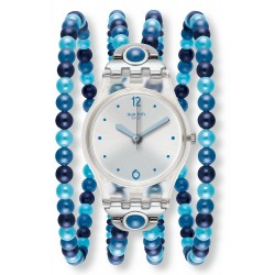 Comprare Orologio Swatch Donna Lady Blues Prohibition LK353