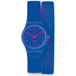 Orologio Swatch Donna Lady Biko Bloo LS115