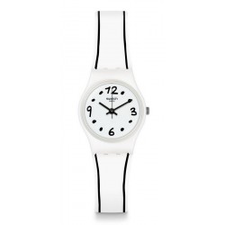 Orologio Swatch Donna Lady Black Border LW162