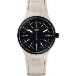 Comprare Orologio Swatch Unisex Sistem 51 Sistem Cream SUTM400 Automatico