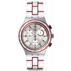 Comprare Orologio Swatch Unisex Irony Chrono Speed Counter YCS1012