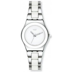 Comprare Orologio Swatch Donna Irony Medium Tresor Blanc YLS141GC