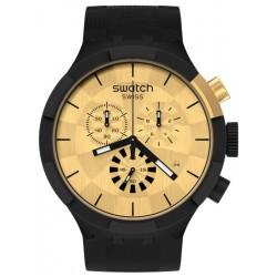 Orologio Swatch Big Bold Chrono Checkpoint Golden SB02Z400