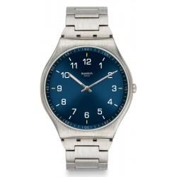 Orologio Swatch Uomo Skin Irony Skin Suit Blue SS07S106G