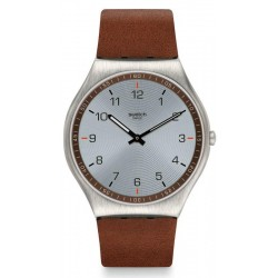 Orologio Swatch Uomo Skin Irony Skin Suit Brown SS07S108