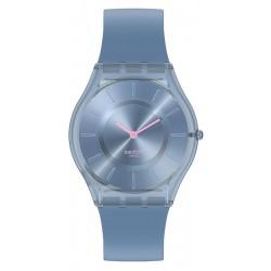 Orologio Swatch Donna Skin Classic Denim Blue SS08N100