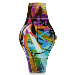 Orologio Swatch Unisex New Gent City Walls SUOB163