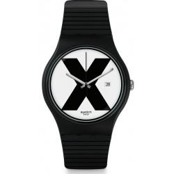 Orologio Swatch Unisex New Gent XX-Rated Black SUOB402
