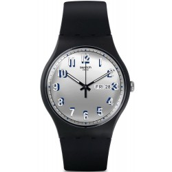 Orologio Swatch Unisex New Gent Secret Service SUOB718