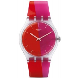 Orologio Swatch Donna New Gent Lampoonia SUOK117