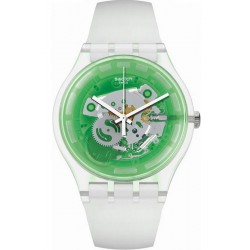 Orologio Swatch Unisex New Gent Greenmazing SUOK131