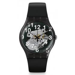 Comprare Orologio Swatch Unisex New Gent Black Board SUOK135