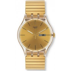 Orologio Swatch Unisex New Gent Dazzling Light S SUOK702B