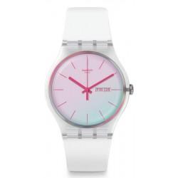 Orologio Swatch Donna New Gent Polawhite SUOK713