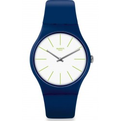 Orologio Swatch Unisex New Gent Bluesounds SUON127