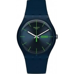 Orologio Swatch Unisex New Gent Blue Rebel SUON700