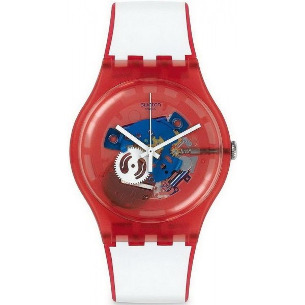 Comprare Orologio Swatch Unisex New Gent Clownfish Red SUOR102