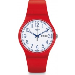 Orologio Swatch Unisex New Gent Red Me Up SUOR707