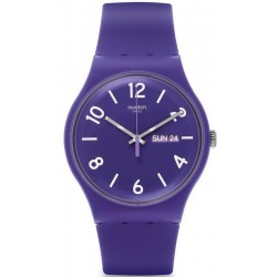 Orologio Swatch Unisex New Gent Backup Purple SUOV703