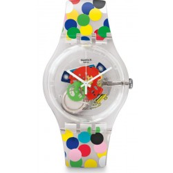 Orologio Swatch Donna New Gent Spot The Dot SUOZ213