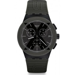 Comprare Orologio Swatch Uomo Chrono Plastic X-District Green SUSB414
