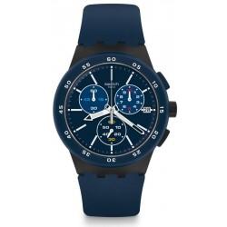 Comprare Orologio Swatch Uomo Chrono Plastic Blue Steward SUSB417