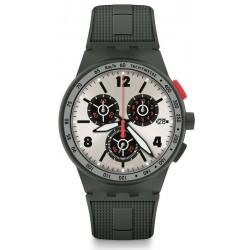 Orologio Swatch Uomo Chrono Plastic Verdone SUSG405