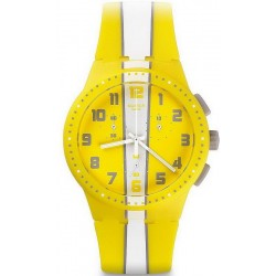 Orologio Swatch Unisex Chrono Plastic Amorgos SUSJ100