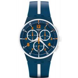 Orologio Swatch Uomo Chrono Plastic Whitespeed SUSN403