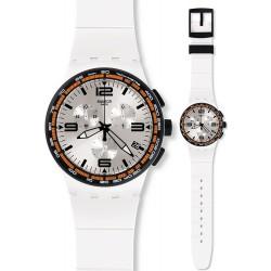 Orologio Swatch Unisex Chrono Plastic White Blades SUSW405
