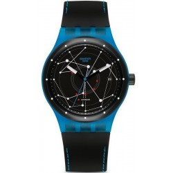 Orologio Swatch Unisex Sistem51 Sistem Blue Automatico SUTS401