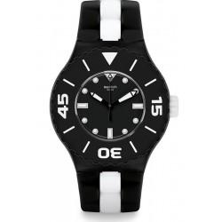 Comprare Orologio Swatch Uomo Scuba Libre B&W Deep SUUB102