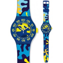 Orologio Swatch Unisex Scuba Libre Out In The Wild SUUN101