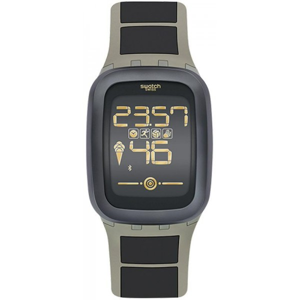Comprare Orologio Swatch Uomo Digital Touch Zero One Earthzero SUVT100