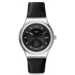 Orologio Swatch Uomo Irony Sistem51 Petite Seconde Black Automatico SY23S400