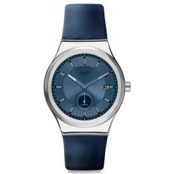 Orologio Swatch Unisex Irony Sistem51 Petite Seconde Blue Automatico SY23S403