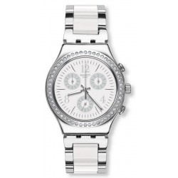 Orologio Swatch Unisex Irony Chrono Made In White YCS119G